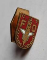 Insigne De Boutonnière émaillé Syndicat CGT FO Confédérarion Générale Des Travailleurs Fraisse Demey - Organisations