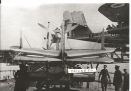 PHOTO AVION HYDRAVION  LOIRE 130  A DAKAR  1941  12X18CM - Aviazione