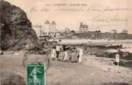 CPA   29   LE POULDU---LES GRANDS SABLES - Le Pouldu