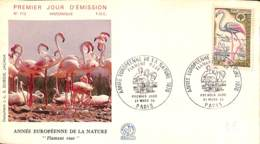 [406681]B/TB//-France  - Année Européenne De La Nature, Flamant Rose, Animaux - Briefmarken