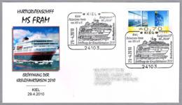 Inicio De La Temporada MS FRAM - Start Cruise Season. Kiel 2010 - Barcos