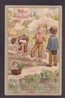 CPA Publicité Chocolat Milka Suchard Publicitaire Réclame Circulé - Publicité
