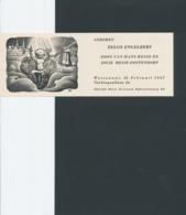 Geboortekaart Eelco Engelbert 1947 - Valentin Le Campion (1903-1952) - Geburt & Taufe