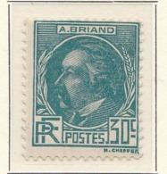 PIA - FRA - 1933 : Personaggi Celebri : Aristide Briant - (Yv 291) - France