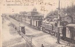 68 - Montreux Vieux - La Gare. - Frankrijk