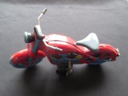 JOUET EN METAL - TOLE (V1913) MOTO (3 Vues) Avec Clef - Autres Collections