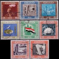 EGYPT 1962 - Scott# 556-63 Revolution 10th. Set Of 8 Used - Egypt