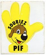 AUTOCOLLANT    1979     SOURIEZ PIF - Andere Verzamelingen