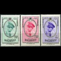 MOROCCO-NORTH ZONE 1957 - Scott# 23-5 King Set Of 3 MNH - Morocco (1956-...)