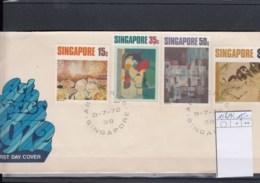 Singapur Michel Cat.No. FDC 156/159 - Singapour (1959-...)
