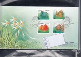 Singapur Michel Cat.No. FDC 1178/1181 Fish - Singapur