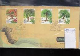 Singapur Michel Cat.No. FDC 1194/1197 Trees - Singapur