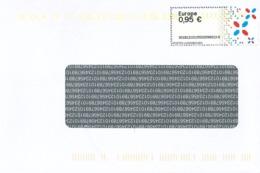 [A4] 95 Cents  - Mit Fluoreszierender Markierung - Vignettes D'affranchissement