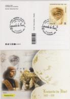 Italia 2019 Legnano (MI) V Centenario Morte Leonardo Da Vinci Annullo Cartolina - Celebrità