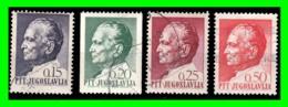 YUGOSLAVIA SELLOS AÑO 1967 LXXV ANIVERSARIO DEL PRESIDENTE JOSIP BROZ TITO  1892-1980 - 1945-1992 República Federal Socialista De Yugoslavia