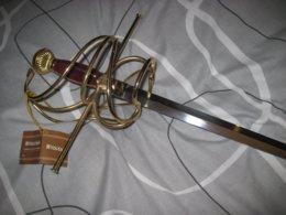 Belle Rapière Fonctionnelle  ( Neuve ) Fabricant Marto A Toléde Longueur 1,05 Métre - Knives/Swords