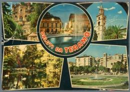 °°° Cartolina - Saluti Da Teramo Vedute Viaggiata °°° - Teramo