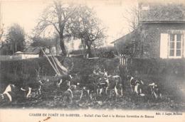 Chasse En Forêt De ST SEVER - Hallali D'un Cerf à La Maison Forestière De Sienne - Chasse à Courre - France