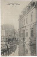 CRUE  DE  LA  SEINE  -  CLICHY  -  La  Mairie  -   28  Janvier  1910  /   ELD - Clichy