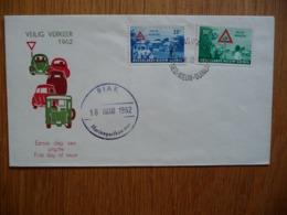 (1) Netherlands New Guinea 1962 FDC Road Safety - Nederlands Nieuw-Guinea