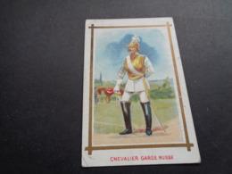 Chromo ( 156 )   A La Belle Anglaise  R. Dupouy  Paris  -  Chevalier Garde Russe   Russie  Rusland - Autres