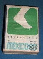 Boite D'allumettes : Mexico 68 : Athlétisme - Boites D'allumettes - Etiquettes