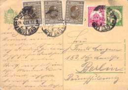 P78  Zfr.1922 Ungarn - Entiers Postaux