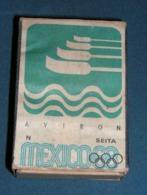 Boite D'allumettes : Mexico 68 : Aviron - Boites D'allumettes - Etiquettes