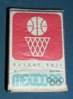 Boite D'allumettes : Mexico 68 : Basket-ball - Boites D'allumettes - Etiquettes