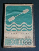 Boite D'allumettes : Mexico 68 : Canoë Kayak - Boites D'allumettes - Etiquettes