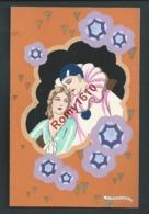 Meschini. Série De 4 Cartes. Superbe Et Rare. Pochoir, état Luxe Recto/ Verso - Illustrateurs & Photographes