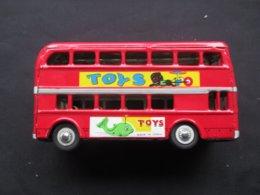 JOUET EN METAL - TOLE (V1913) BUS DEUX ETAGES - DOUBLE DECK BUS (2 Vues) - Autres Collections