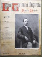 La Tribuna Illustrata Mensile Novembre 1895 Marradi Nido Pirandello Corea Coro - Ante 1900