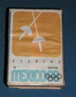 Boite D'allumettes : Mexico 68 : Escrime - Boites D'allumettes - Etiquettes