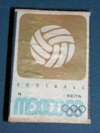 Boite D'allumettes : Mexico 68 : Foot-ball - Boites D'allumettes - Etiquettes