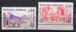 Andorre Français - Europa CEPT 1983 - Yvert Nr. 313/314. - Michel Nr. 334/335 ** - Europa-CEPT
