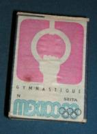 Boite D'allumettes : Mexico 68 : Gymnastique - Boites D'allumettes - Etiquettes