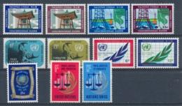 Verenigde Naties/United Nations/Nation Unis New York 1970 Mi: 220-230 Yt:  (PF/MNH/Neuf Sans Ch/**)(4918) - Ongebruikt