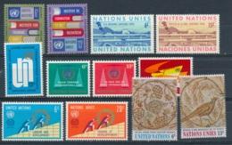 Verenigde Naties/United Nations/Nation Unis New York 1969 Mi: 208-219 Yt:  (PF/MNH/Neuf Sans Ch/**)(4919) - New York - Hoofdkwartier Van De VN