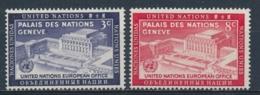 Verenigde Naties/United Nations/Nation Unis New York 1954 Mi: 31-32 Yt: 25-26 (PF/MNH/Neuf Sans Ch/**)(4920) - New York - Hoofdkwartier Van De VN