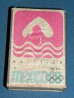 Boite D'allumettes : Mexico 68 : Natation - Boites D'allumettes - Etiquettes