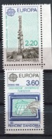 Andorre Français - Europa CEPT 1988 - Yvert Nr. 369/370 - Michel Nr. 390/391 ** - Europa-CEPT