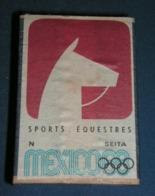 Boite D'allumettes : Mexico 68 : Sports équestres - Boites D'allumettes - Etiquettes