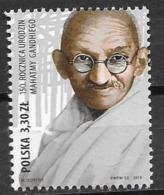 POLAND, 2019, MNH, GANDHI, 1v - Mahatma Gandhi