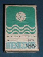 Boite D'allumettes : Mexico 68 : Water-polo - Boites D'allumettes - Etiquettes