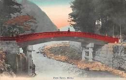 Japan Nikko Pont Sacre Bridge Bruecke - Altri