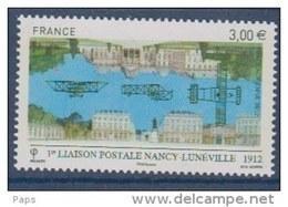FRANCE 2012-P.A. N°75**1ere LIAISONPOSTALE NANCY-LUNEVILLE - Poste Aérienne