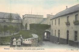 Belgique - Namur - La Porte Avec Pont-Levis à La Citadelle - Couleurs - Namen
