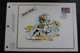 2390 'Lucky Luke' - CEF Feuillet De Luxe - Tirage: 3475 Exemplaires - Stripsverhalen
