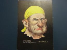 Carte Postale Les Corsaires Etienne Blandin Sylvain Le Drogo Dit Nez D'prince - Andere Zeichner